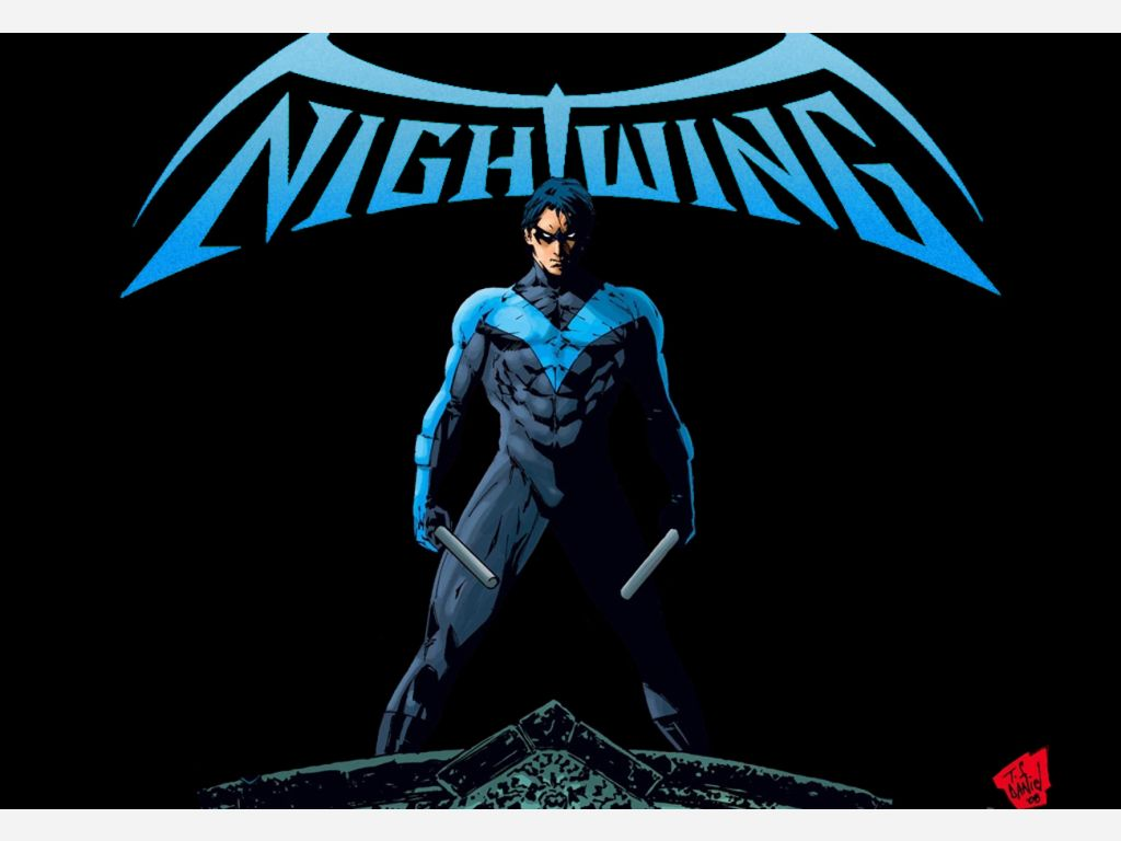 first superhero sidekick nightwing