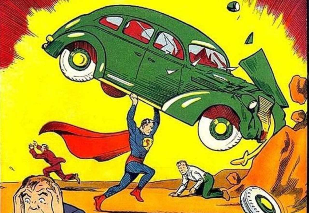 first superhero sidekick superman