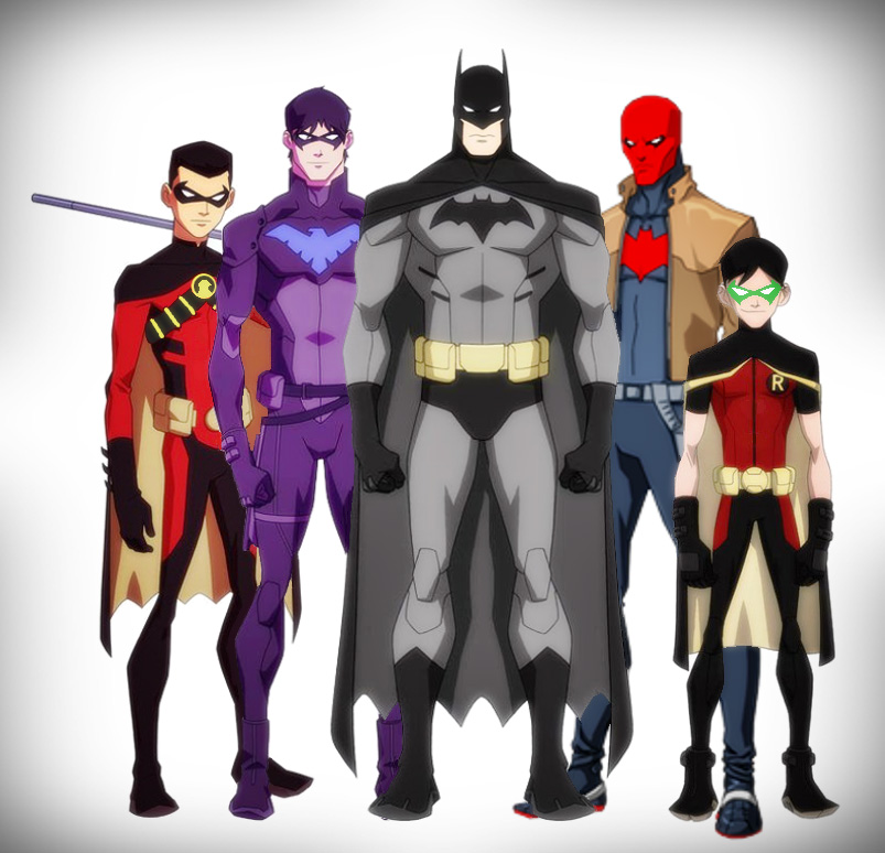 first superhero sidekick Batman & Robins