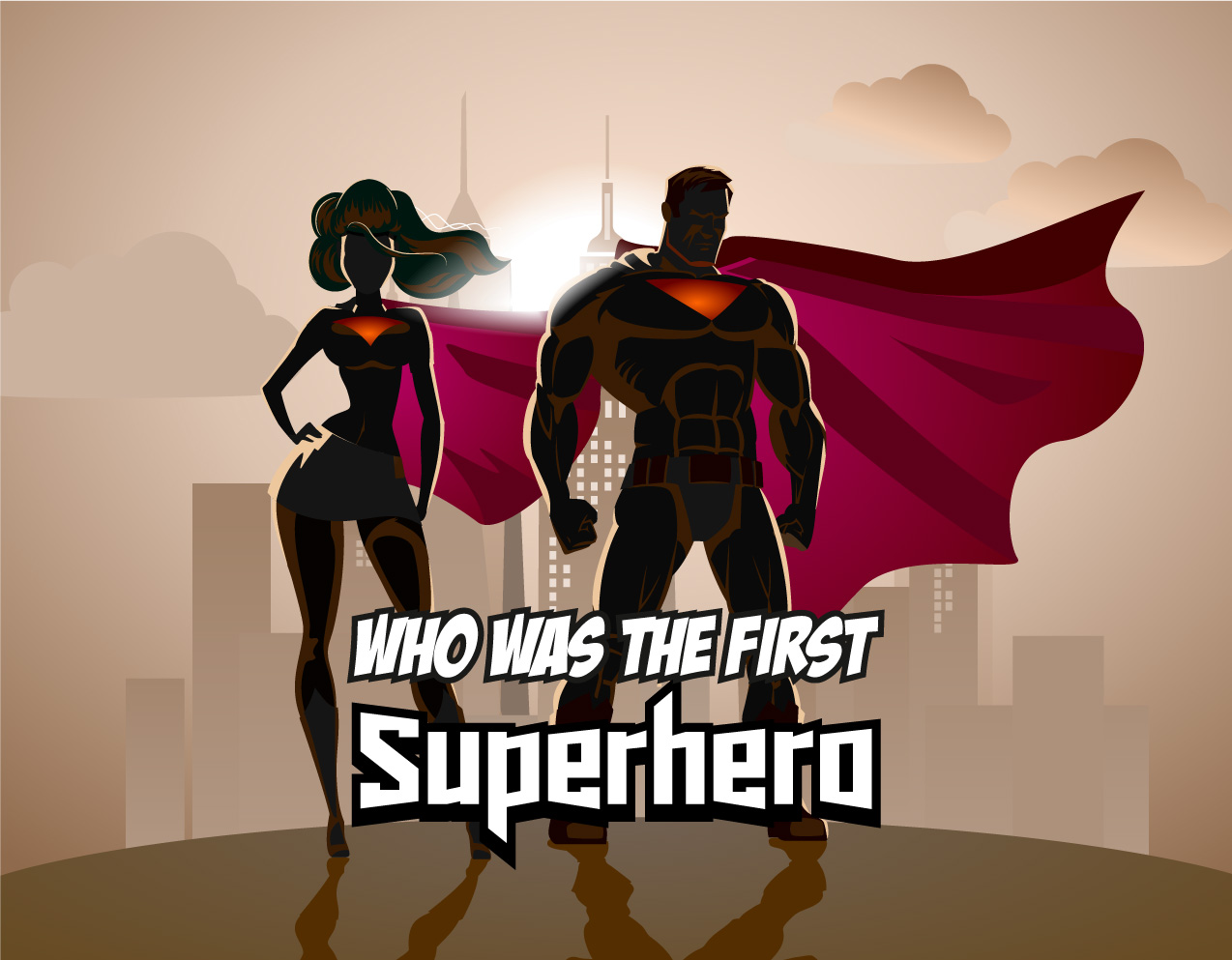 who-was-the-first-superhero