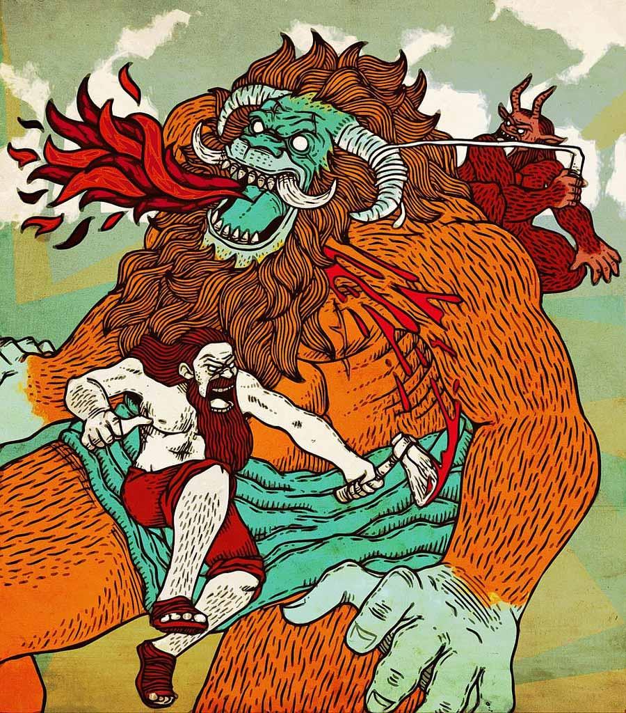 first superhero sidekick Gilgamesh Enkidu Humbaba