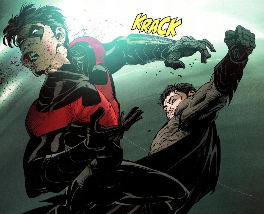 first superhero sidekick Batman & nightwing