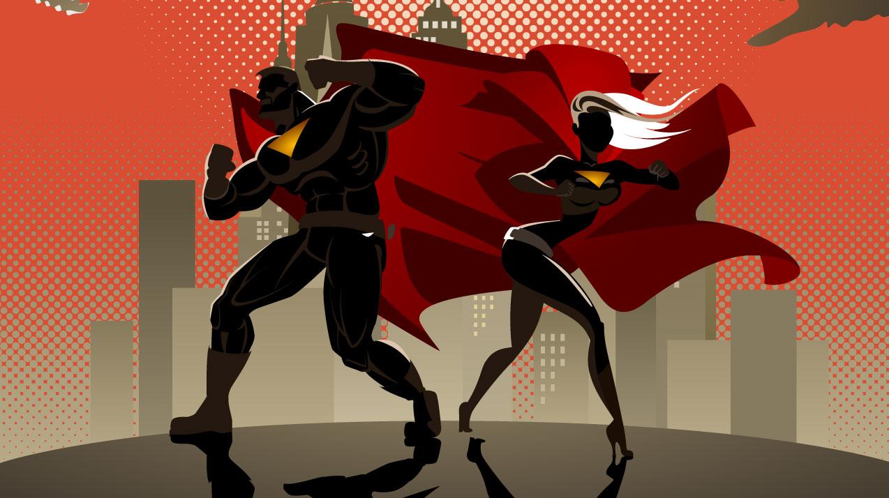 first superhero sidekick picture