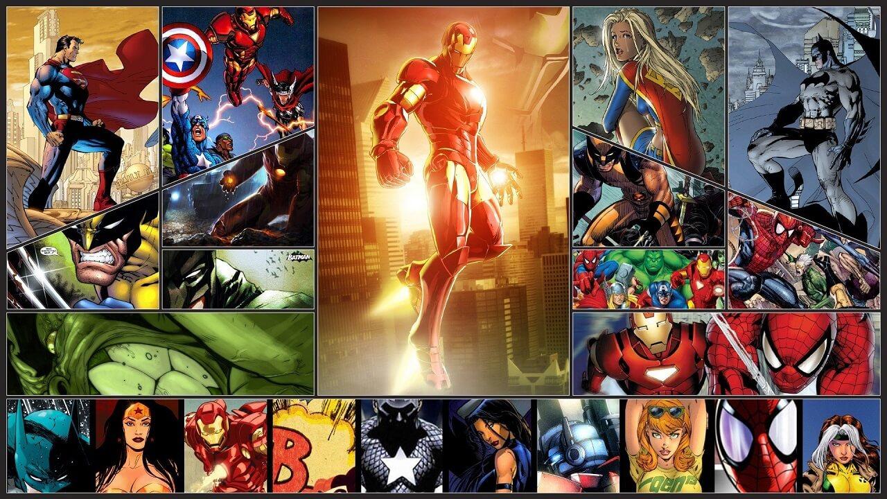 first superhero montage