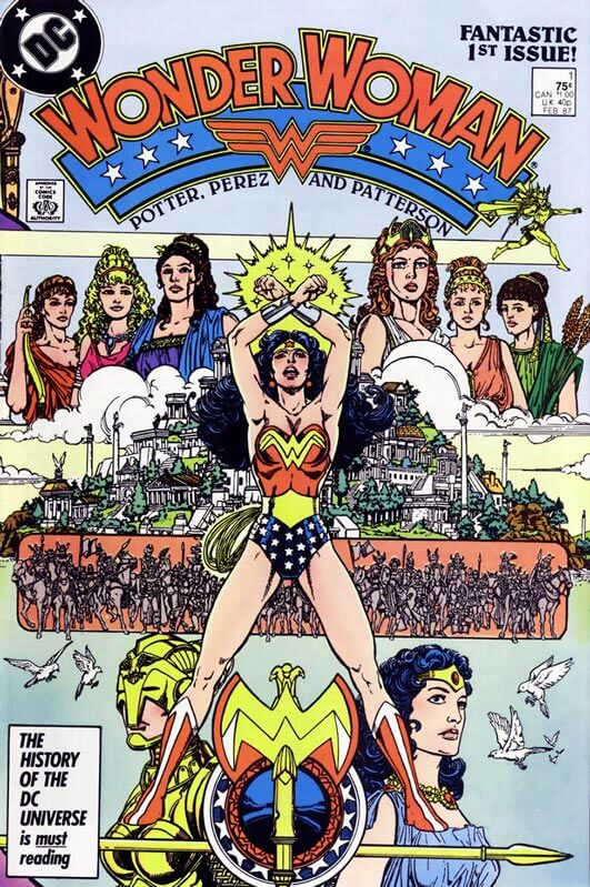 Superhero Comic Book Wonder Woman