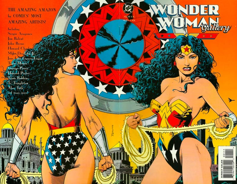Top 5 Wonder Woman Comic Book Covers