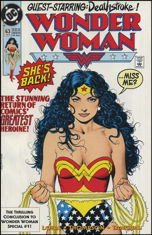 Superhero Comic Book Wonder Woman 63