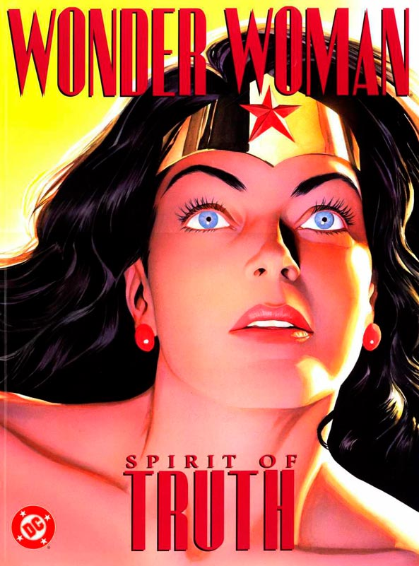 Superhero Comic Book Wonder Woman Spirit of Truth